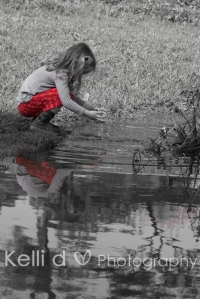 Little Girl and reflection-6